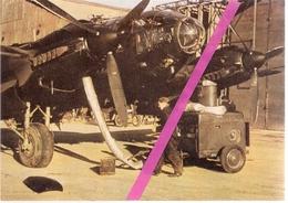 1939/45 *  LA   LUFTWAFFE  EN  GUERRE  *   PREPARATION   AU   VOL   D'UN    HEINKEL  111  * - 1939-1945: 2nd War
