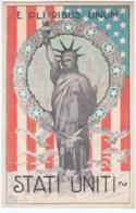 Cartolina Propaganda Stati Uniti 1918 Disegnata Lachetti - Italy