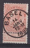 N° 57  BASEL  COBA +8.00 - 1893-1900 Fine Barbe
