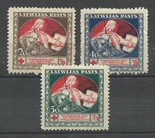 LATVIA Lettland 1920 Michel 51 - 53 * - Letland