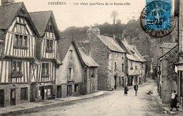 FOUGERES - Les Vieux Quartiers De La Basse Ville - Fougeres