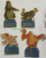 WALT DISNEY HOME VIDEO  Lot De 4 Pin's Différents - Disney