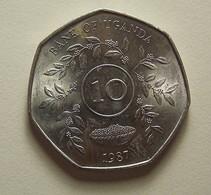 Uganda 10 Shillings 1987 - Uganda