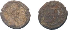 [H] +++ AE20 -- Septimius Severus --  PHILIPPOPOLIS In Thracia - Dionysos With Panther - VERY RARE!! +++ - 3. Röm. Provinz