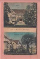 OLD POSTCARD  -  GERMANY - DEUTSCHLAND -  GRUSS AUS MANSCHNOW - ODERBRUCH - Germania