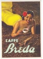 Cartolina Pubblicitaria Caffè Breda 1930 Firmata Boccasile - Italy