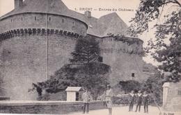 - 29 - BREST : Entrée Du Chateau - Brest