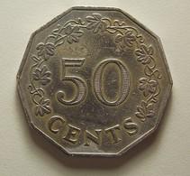 Malta 50 Cents 1972 - Malta