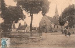 58 Nièvre :  Dornes L'église Et Le Monument Aux Morts Réf 5806 - France