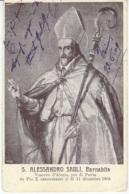 Cartolina San Alessandro Sauli Barnabita 1909 - Saints