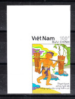 Vietnam  - 1990. Venditore Di Elisir. Elixir Seller. MNH, Imperf. Rare - Fiabe, Racconti Popolari & Leggende