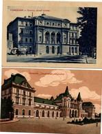 Temesvar Timisoara - 2 Cartes - Palais - Romania
