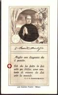 Reliquia Di Servo Di Dio Clemente Marchisio, Santino Con Preghiera - Religione & Esoterismo