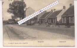 """STABROECK-STABROEK """" HOOGEIND MET AANKOMENDE STOOMTRAM"""" HOELEN 1519 N°1519 UITGIFTE 1905 - Stabroek"""