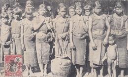 ¤¤  -  LAOS   -  Femmes Lovés Buvant Le Vin De Riz  -   ¤¤ - Laos