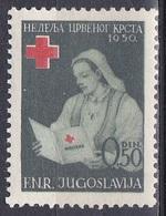 Jugoslawien Jugoslavia 1950 Wohlfahrt Welfare Organisationen Rotes Kreuz Red Cross Krankenschwester Nurse, Mi. 8 ** - Bienfaisance