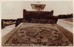 R169544 The Floral Cuckoo Clock. White Rock Gardens. Hastings. 2268. 1938 - Postcards