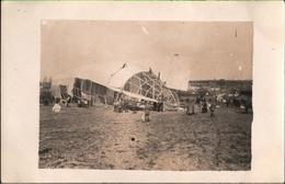 ! Saint Quentin [02], 1. Weltkrieg, 20.3.1915, Militärluftschiff Zeppelin L10, ( LZ29 ), Foto, Photo, Paris, Frankreich - Dirigeables