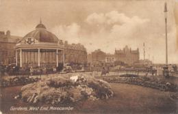 R169815 Gardens. West End. Morecambe. 1925 - Cartes Postales