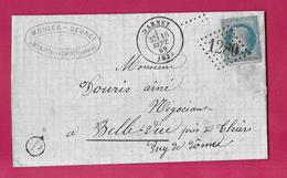 N°29 GC 1280 DARNEY VOSGES BOITE RURALE P BELRUPT THIERS PUY DE DOME - Postmark Collection (Covers)