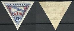 Lettland Latvia 1931 Michel 192 B WM Normal Vertical * - Lettland