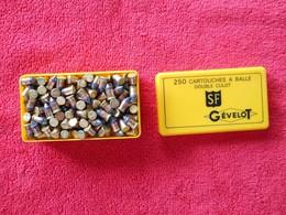 Boite Complete De 250 Bosquettes Double Culot 22 Pour Collection - Decotatieve Wapens