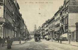 LILLE  Rue Nationale TRAM  Benedictine Liqueur RV - Lille