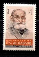 Russia.USSR 1969 Mi 3676 MNH ** Pavlov - Ungebraucht
