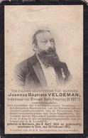 Berlare, Zele, 1913, Joannes Veldeman, De Beule - Imágenes Religiosas