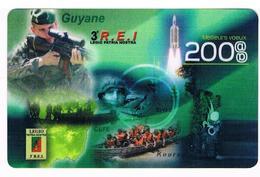 Calendrier De Poche - LEGION ETRANGERE - 3e REI Guyane - 2008 - Petit Format : 2001-...