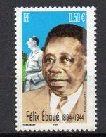 - FRANCE Variété 3697a ** - 0,50 € Félix Eboué 2004 - 2 BANDES DE PHOSPHORE A DROITE - Cote 30 EUR - - Abarten Und Kuriositäten