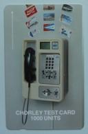 SINGAPORE - GPT Chorley Test - 1000 Units - SINGAPORE 530 011 - 100ex - Mint - Singapour