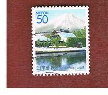 GIAPPONE  (JAPAN) -  SG  YAMS 14   REGIONAL STAMPS -   2001 OSHINO HAKKAI PONDS   - USED° - 1989-... Imperatore Akihito (Periodo Heisei)