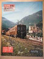 Vie Du Rail 773 1960 Nancy Champigneulles Le Capitole Milan Canzo Asso Strasbourg Apprentis Sncf De Marseille - Trains
