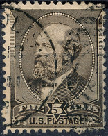 Stamp US #205 1882 5c Garfield USED Lot92 - Used Stamps