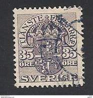 Schweden, Dienstpost, 1911, Michel-Nr. 43, Gestempelt - Servizio