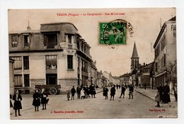 - CPA THAON (88) - La Coopérative - Rue De Lorraine 1917 (belle Animation) - Photo-Edition Bouteiller - - Thaon Les Vosges