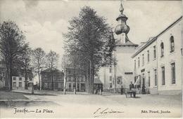 Jauche.   -   La Place.   -   Prachtige Kaart!    -   1900 Naar   Bruxelles - Orp-Jauche