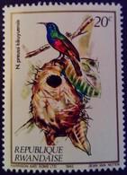 Rwanda 1983 Animal Oiseau Bird Yvert 1089 ** MNH - Rwanda