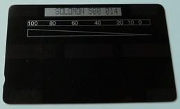 SOLOMON ISLANDS - GPT Chorley Test - 1000 Units - 500 014 - 100ex - Mint - Salomon