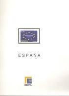 España - Suplemento EDIFIL Año 2005 - Montado Con Filaestuches Transparentes - 11 Hojas - Envio Gratuito A España - Pre-Impresas