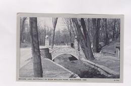 CPA PHOTO RICHMOND, BRIDGE AND DRIVEWAY IN GLEN MILLER PARK - Richmond