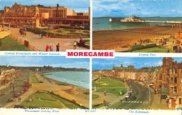 R170810 Morecambe. Valentines. Valchrome. 1964. Multi View - Cartes Postales