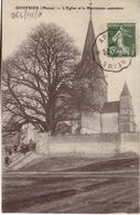 SAVOIE- Apremont à Reims - Arrivée à Longwy-CAD- Oblitération Ferroviaire-1909 - Postmark Collection (Covers)