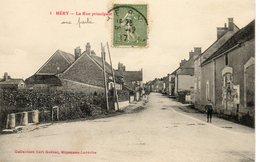 89  HERY   La Rue Principale - Hery
