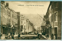 "Andenne "" Grand Rue Ou Rue Du Commerce "" Neuve - TB - émission Peu Courante - Andenne"