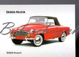 9-33 CZECH REPUBLIC 2010 - Skoda Felicia (1959–64) - 2-door Convertible - Oldtimer -  Skoda Muzeum - Voitures De Tourisme