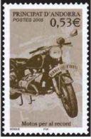 """Andorre YT 614 """" Motocyclisme """" 2005 Neuf** - Unused Stamps"""