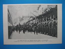 (1904) Gare De Krementchoug (Ukraine)  : Les Adieux Du Tsar NICOLAS II Aux Troupes Partant Pour La Mandchourie - Non Classés