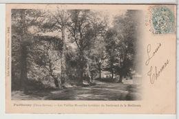 79 - PARTHENAY - Les Vieilles Murailles Fortifiées Du Bd De La Meilleraie - Parthenay